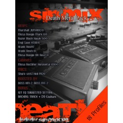 SinMix Death Metal Pack