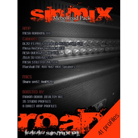 SinMix MeboRoad Pack