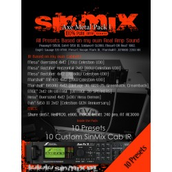 SinMix Axe Metal Preset Pack