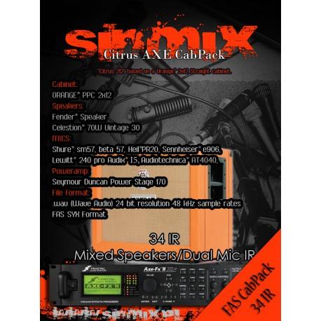 SinMix Axe CabPack Citrus 212
