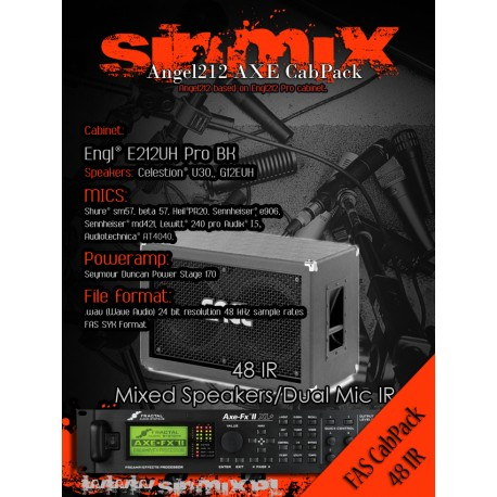 SinMix Axe CabPack Angel212
