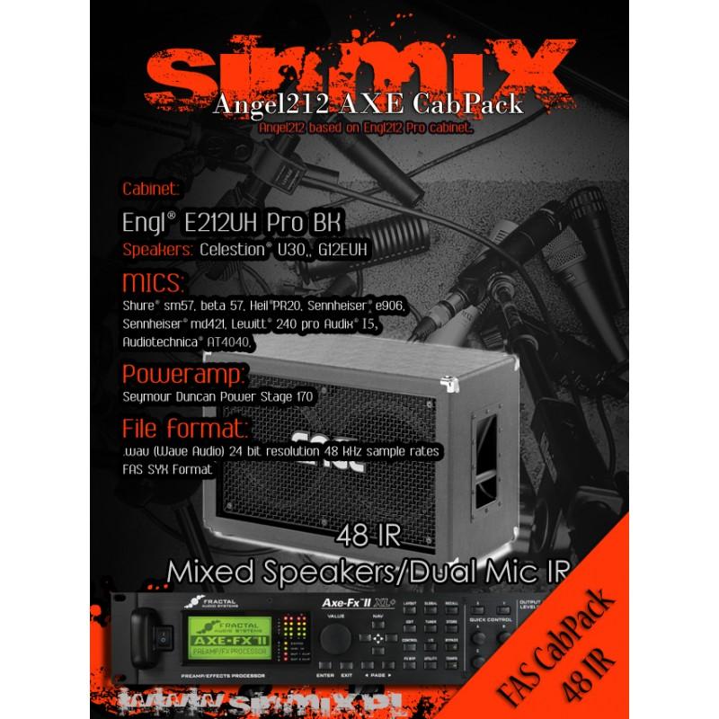 SinMix Axe CabPack Angel212 - SinMix KPA Profiles