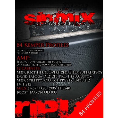 SinMix TriClown Kemper Pack